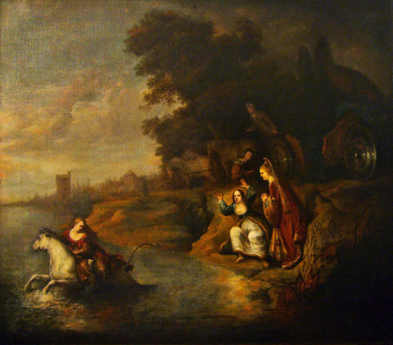 Rembrandt van Rijn (Suiveur de) - Dutch, 1606-1669 - The Abduction of Europa, c. 1640