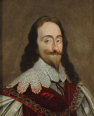 Entourage of Sir Anthony van Dyck - English, circa 1640 - Portrait of Charles I, Sovereign King of Great Britain