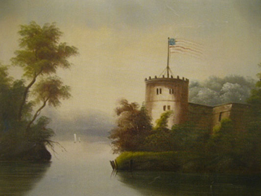 Thomas Chambers (1808-1869) - Fort at Croton on Hudson
